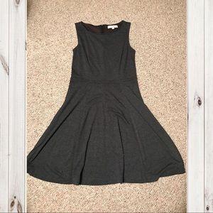 LOFT Ann Taylor gray dress size 10 NWOT